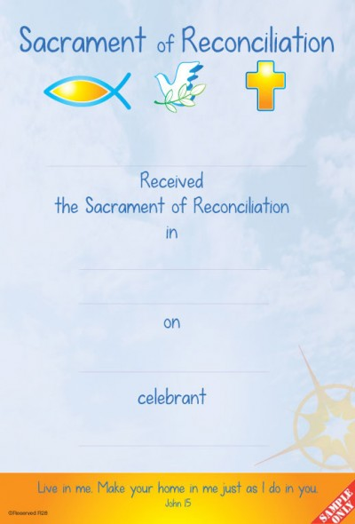 Reconciliation Certificate Ref R28