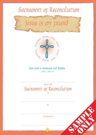 Reconciliation Certificate Ref R21