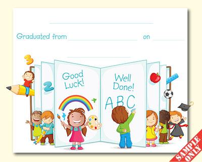Creche/Montessori Certificate Ref G93