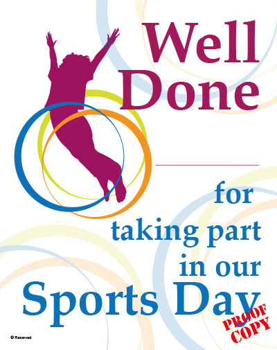 Sports Day Certificate S94