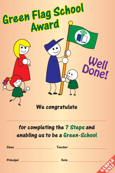 Green School Certificate Ref GS01