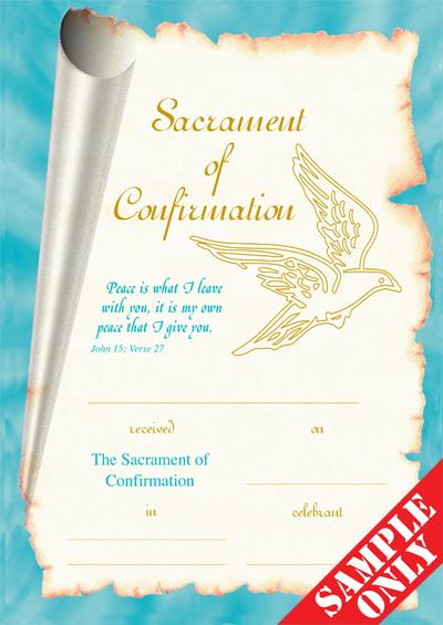 Confirmation Certificate Ref C65