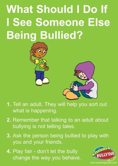 Resolving Bullying Poster B2
