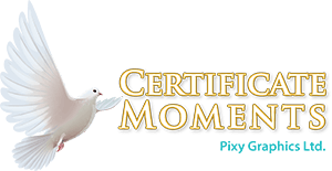 Certificate Moments USA Logo