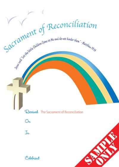 Reconciliation Certificate Ref R25