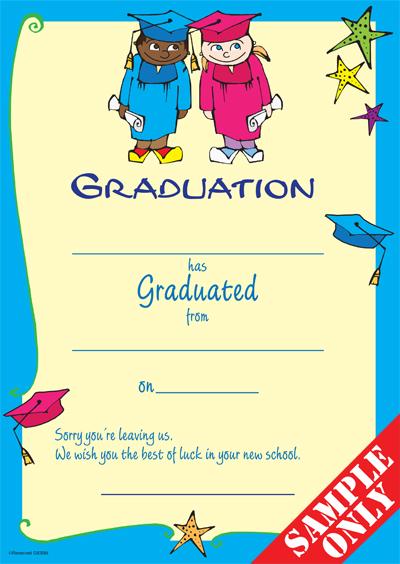 Primary School Graduation Certificate Ref G83B