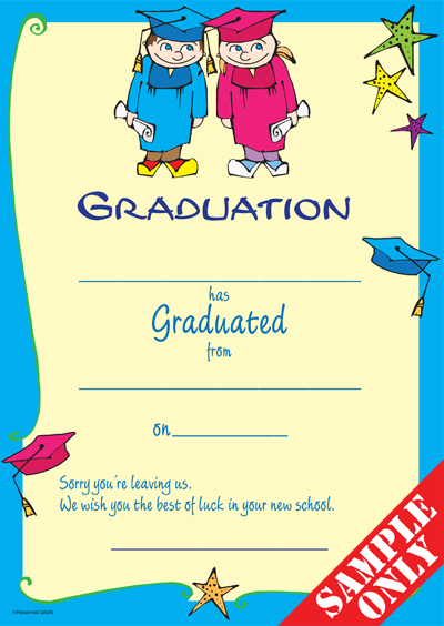 Primary School Graduation Certificate Ref G83W
