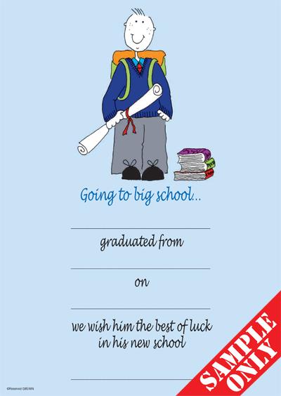 Primary School Graduation Certificate Ref G85W