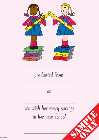 Primary School Graduation Certificate Ref G86B