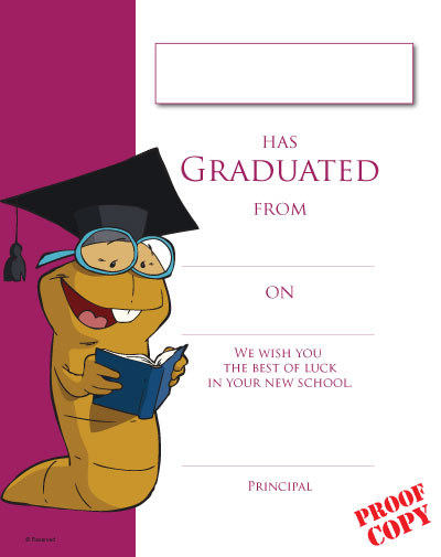 Primary School Graduation Certificate Ref G92