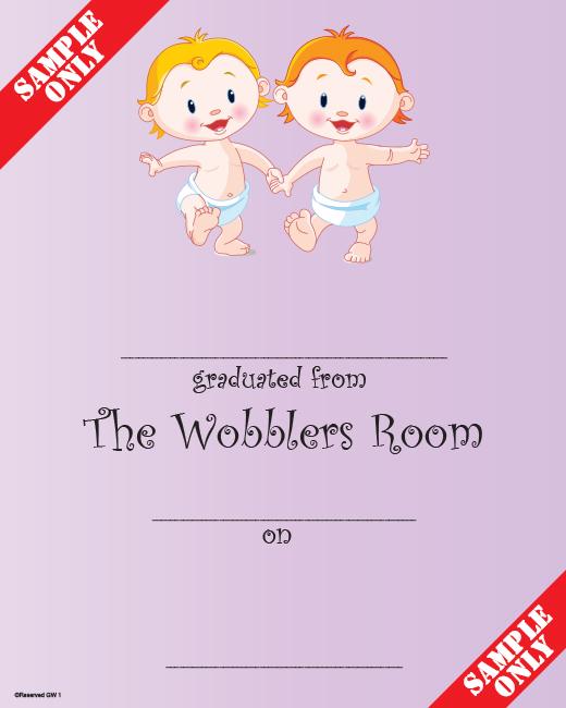 Creche/Montessori Certificate Ref GW1