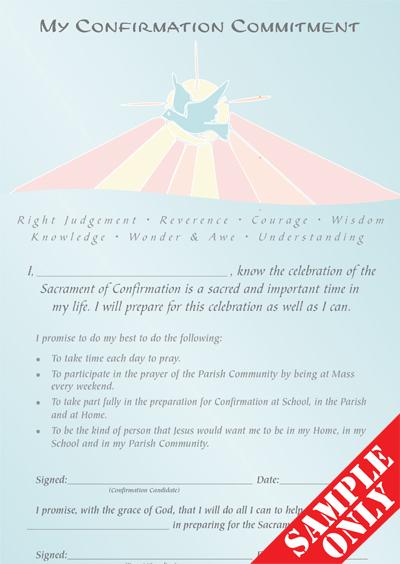 Confirmation Enrolment / Commitment Certificate C53