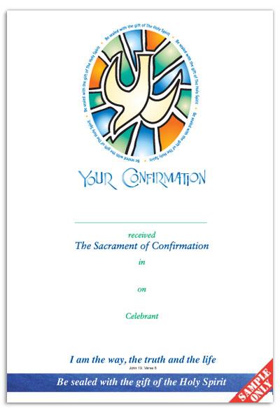 Confirmation Certificate Ref C64