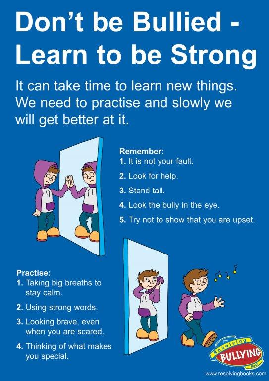 Resolving Bullying Poster B1 (A2 Size)