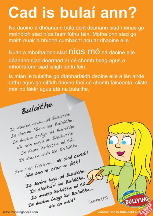 Póstaeir bulaíochta 3