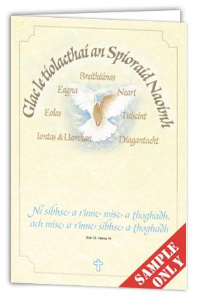 Clúdaigh Leabhráin Aifrinn – Cóineartú B67 pack of 100